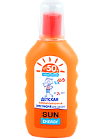 "Эмульсия для загара SPF 50+ для детей ТМ ""Sun Energy kids"", 150 мл."