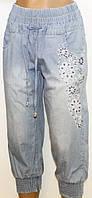 Капри джинсовые для женщин р. 29    арт. 6801