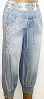 Капри джинсовые для женщин р. 29    арт. 6802