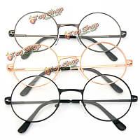 Унисекс мужчины женщины смолы круглый овал металлическим ободом дальнозоркостью очки для чтения старинных очков
