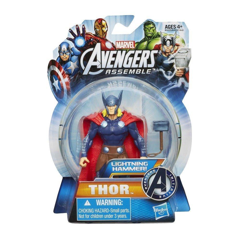 "Фигурка Тор ""Коллекция Героев"" - Thor, Avengers, Assemble, Hasbro, 9.5CM"