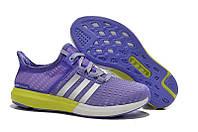 Женские кроссовки Adidas Gazelle Boost фиолетовые, фото 1