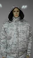 Куртка зимняя MultiCam Alpine (мультикам белый) Собственное производство