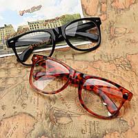 Унисекс мужчины женщины полный кадр поликарбонатные очки прозрачные линзы простые очки зрение очки