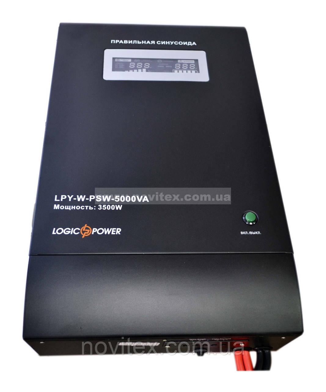 ИБП Logicpower LPY-W-PSW-5000+ (3500Вт) 48V