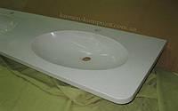 Столешница под ванную из искусственного камня