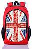 """Детский рюкзак """" Great Britain """" (красный)"""