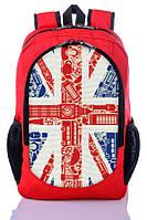 """Детский рюкзак """" Great Britain """" (красный), фото 1"""