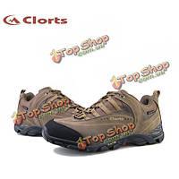 Clorts мужской коричневый мульти спорт бег по пересеченной местности вентилятор пешие прогулки обувь