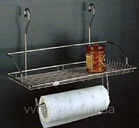 Полочка с держателем бумажного полотенца