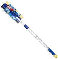 Швабра для окон 31см на телескопической ручке