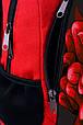 """Подростковый рюкзак """" ПИОН """" (красный), фото 4"""