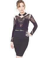 Блуза-боди  Arefeva черная, фото 1