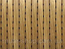 DecorAcoustic натур.шпон дуб белый, панель