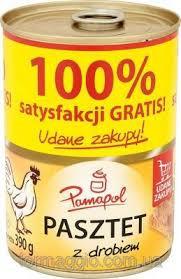 Паштет куриный Pamapol, 390гр