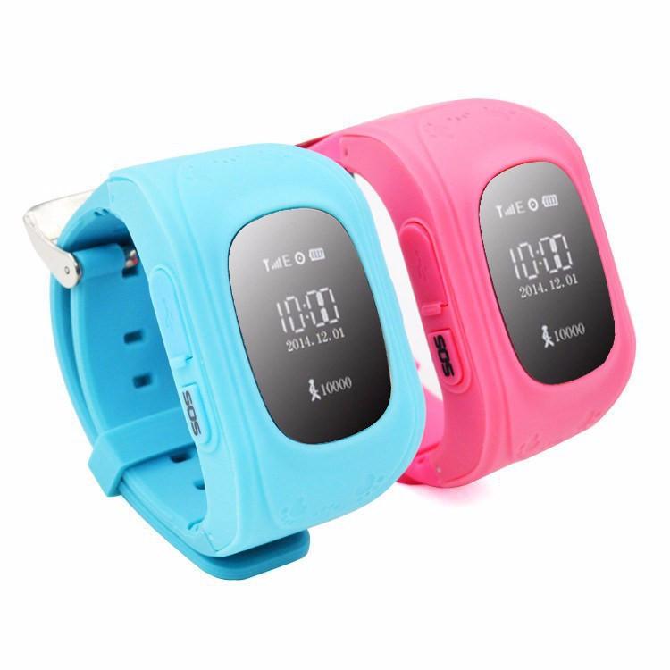 Детские умные часы GPS-трекер Smart Baby Watch Q50 (Оригинал, OLED)
