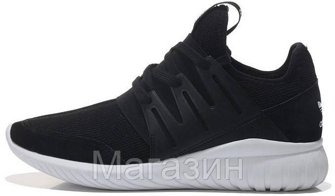 Мужские высокие кроссовки Adidas Tubular Black (в стиле Адидас Тубулар)  черные - Магазин обуви c18c872a67f
