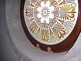 Круглое деревянное евроокно, фото 2