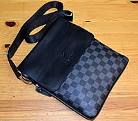 Мужская сумка через плечо модная стильная
