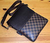 Мужская сумка планшет через плечо модная