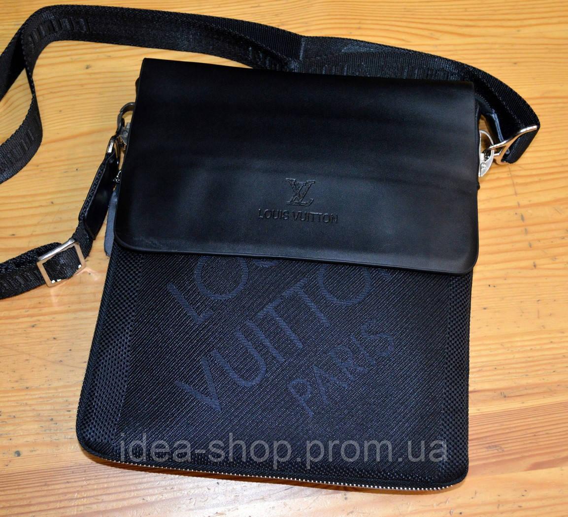 bf3622ef7cc8 Сумка планшет мужская молодежная через плечо LV - интернет-магазин