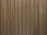 DecorAcoustic натур.шпон орех, панель