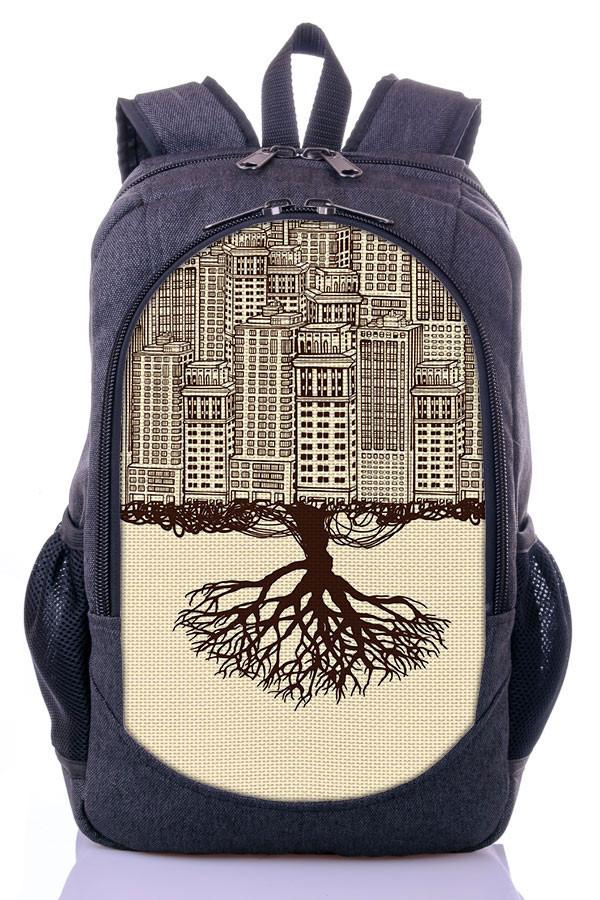 "Взрослый рюкзак "" CITY"" (серый)"