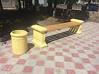 """Скамейка """"Квартет"""". Лавочки бетонные Днепропетровск. В наличии и под заказ от производителя."""