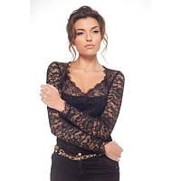 Блуза-боди  Arefeva черная