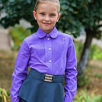 Рубашка школьная с защипами, фото 1