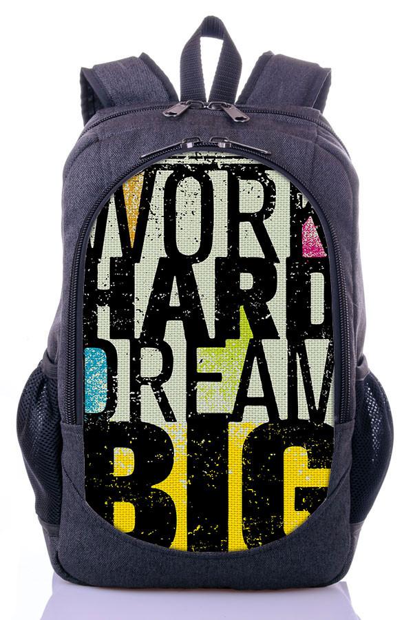 "Подростковый рюкзак "" WORK"" (серый)"