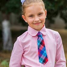"""Шкільна сорочка для дівчинки """"ніжність"""""""