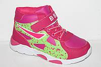 Новинки спортивной обуви. Кроссовки на девочек от фирмы BBT 3318-6 (8пар 31-36)