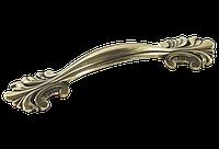 Ручка-скоба классическая AMUR-063-96-AE античная бронза 96 мм, фото 1