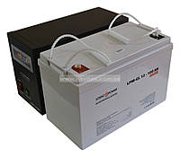 Комплект резервного питания ИБП Logicpower LPY-B-PSW-500 + АКБ LP-GL100, фото 1