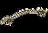 Ручка-скоба классическая AMUR-057-96-AE античная бронза 96 мм