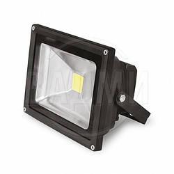 Светодиодный прожектор LED-FL-10(black), COB, 10 Вт, белый холод., Eurolamp