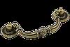 Ручка-скоба классическая AMUR-030-96-AE античная бронза 96 мм