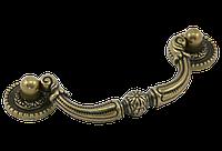 Ручка-скоба классическая AMUR-030-96-AE античная бронза 96 мм, фото 1
