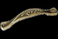 Ручка-скоба классическая AMUR-054-96-AE античная бронза 96 мм, фото 1