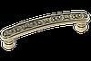 Ручка-скоба классическая AMUR-055-96-AE античная бронза 96 мм