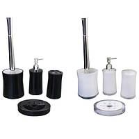 Набор акриловых аксессуаров для ванной 4 предмета