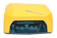 LED+CCFL Лампа гибридная, 36 Вт, желтая, сенсорная, таймер