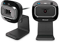 Web-камера Microsoft LifeCam HD-3000 HD 1280x720 ваш собеседник будет доволен качество майкрософт вебкамера