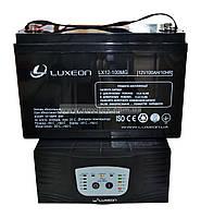 Комплект резервного питания ИБП Luxeon UPS-1000ZY + АКБ LX12-100MG, фото 1