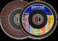 Круг лепестковый торцевой 125мм, №60 SPITCE