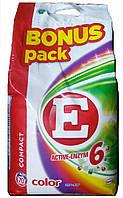 Стиральный порошок E Aktive-enzym 6 color 4,9 кг 70 стирок, фото 1