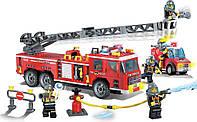 Конструктор Пожарная тревога 607 деталей Brick 908