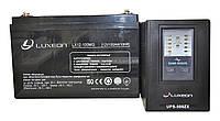 Комплект резервного питания ИБП Luxeon UPS-500ZX + АКБ LX12-100MG, фото 1