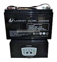 Комплект резервного питания ИБП Luxeon UPS-500ZY + АКБ LX12-100MG, фото 1